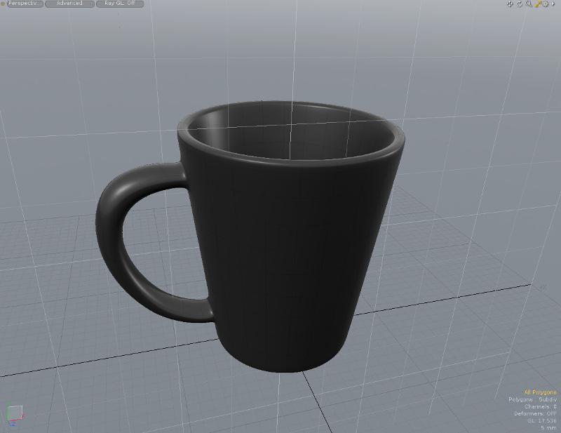 Model The Mug