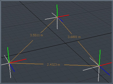 how to draw accurate dimension in modo