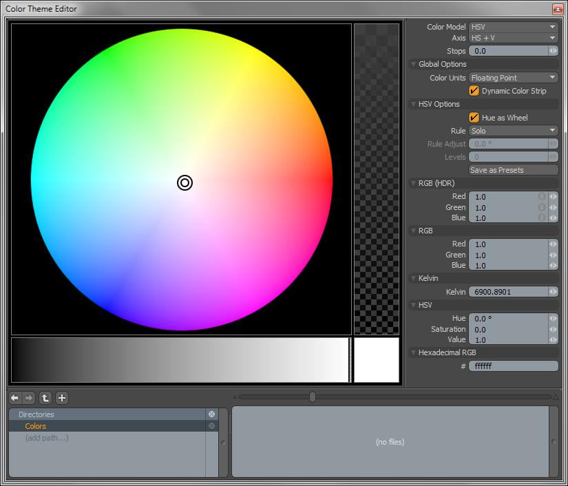 Color Theme Editor