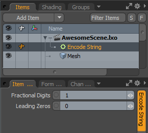 String Modifiers