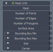Mesh Info Modifier