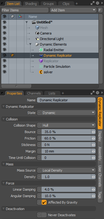 Dynamic Replicator