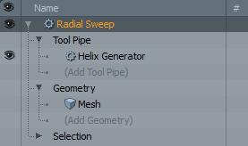 Radial Sweep