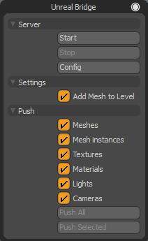 Modo Bridge for Unreal Engine
