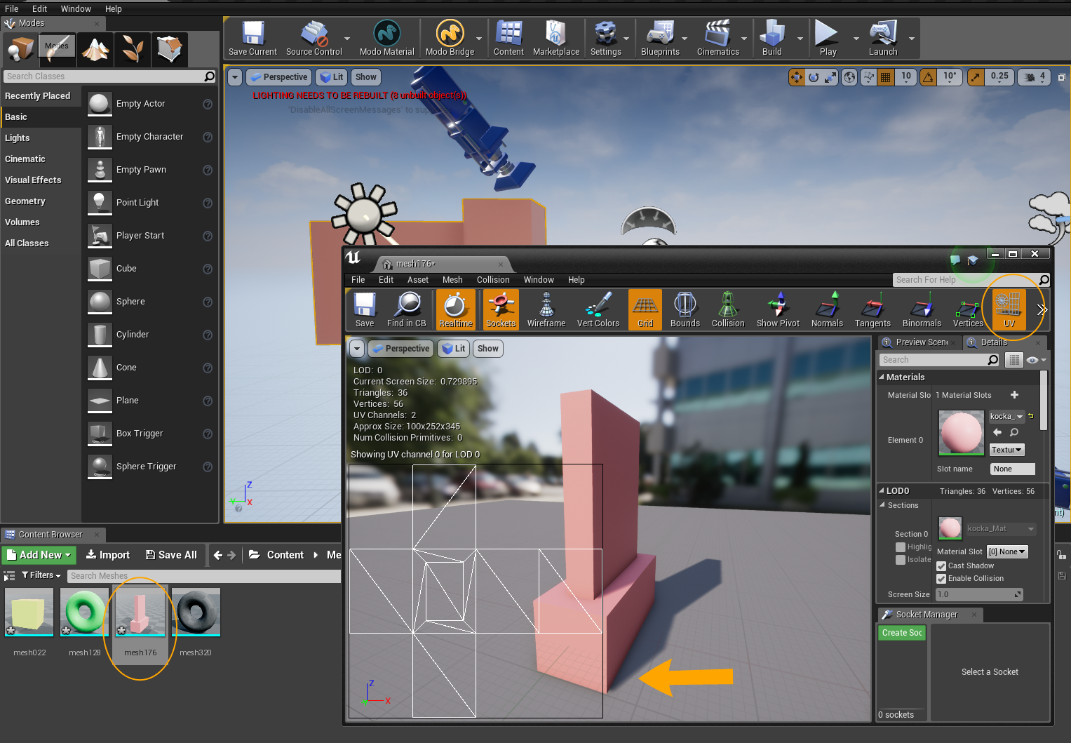 Modo Bridge for Unreal Engine