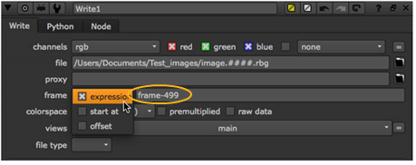 Changing The Numbering Of Rendered Frames