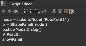 Custom Panels — NUKE Python Developer's Guide v8 0v1